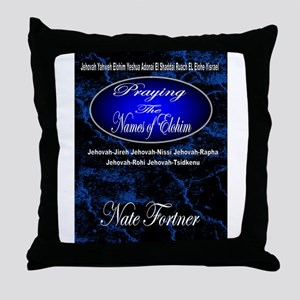 The Names of God Throw Pillow