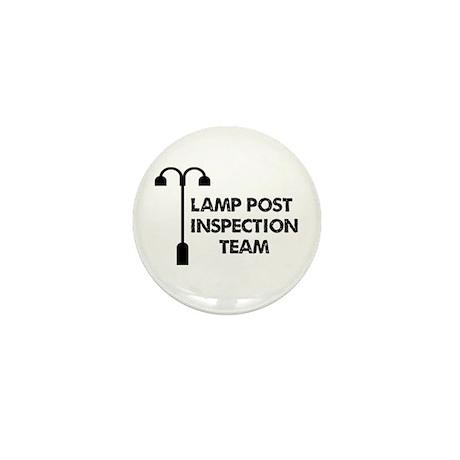Lamp Post Inspection Team Mini Button