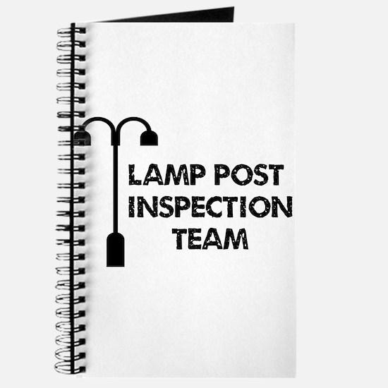 Lamp Post Inspection Team Journal