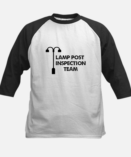 Lamp Post Inspection Team Kids Baseball Jersey
