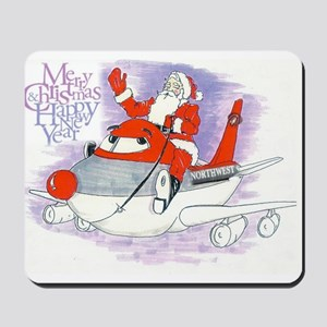 Northwest Airlines Seasons Greetings Mousepad