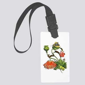 Maria Sibylla Merian Botanical Large Luggage Tag