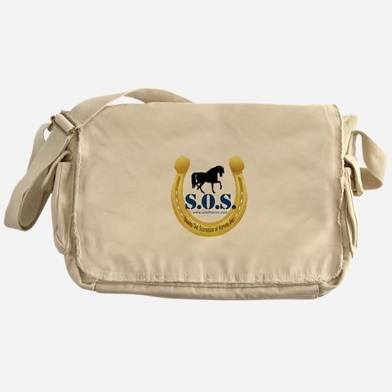 SOS Logo Messenger Bag