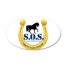 SOS Logo Wall Decal