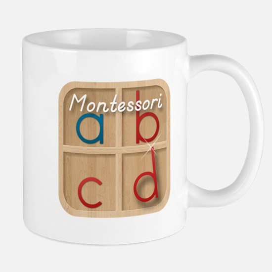 Mobile Montessori - Movable Alphabet icon Mug