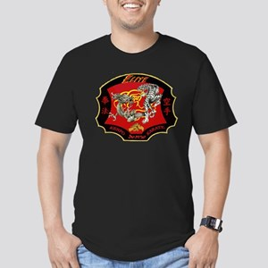 Kenpo Karate Men's Fitted T-Shirt (dark)
