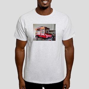 1923 Popcorn or Peanuts Wagon Light T-Shirt