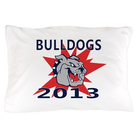 Bulldogs 2013 Pillow Case