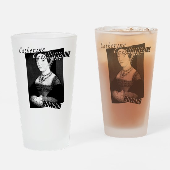 Catherine Howard Graphic Drinking Glass