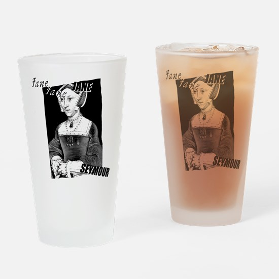 Jane Seymour Graphic Drinking Glass