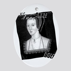 Anne Boleyn Graphic Ornament (Oval)