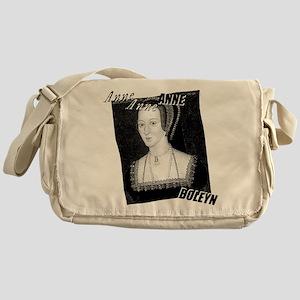 Anne Boleyn Graphic Messenger Bag