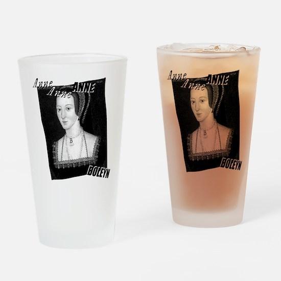 Anne Boleyn Graphic Drinking Glass