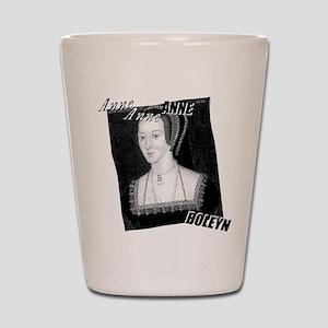 Anne Boleyn Graphic Shot Glass