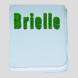 Brielle Grass baby blanket
