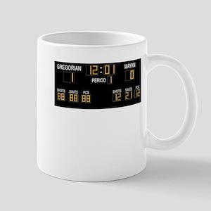 Doomsday calendar - Gregorian 1 Mayan 0 Mug