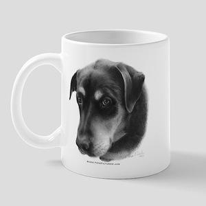 Rottweiler Lab Mix Mug