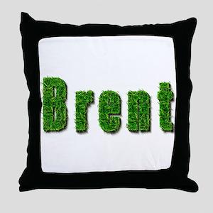 Brent Grass Throw Pillow