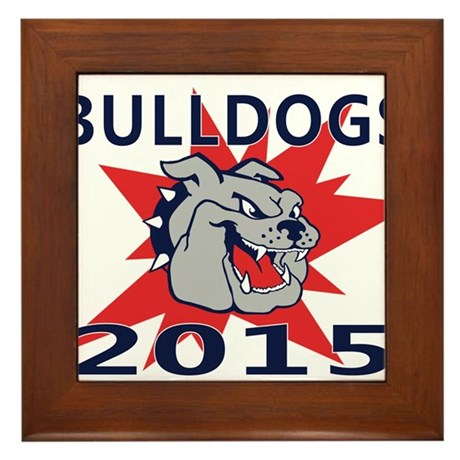 Bulldogs 2014 Framed Tile