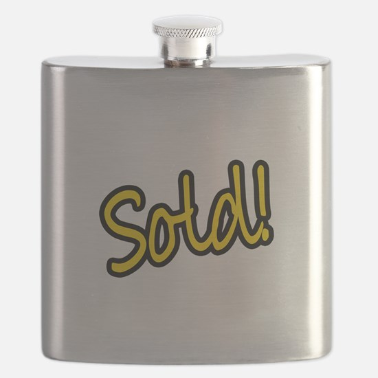 Sold! Flask