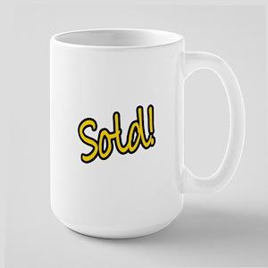 Sold! Large Mug