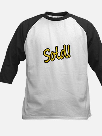 Sold! Kids Baseball Jersey