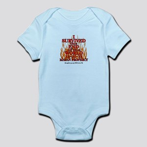 I SURVIVED THE END OF THE WORLD Infant Bodysuit