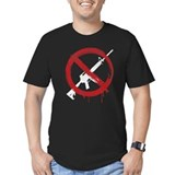 Ban assault weapons Fitted Dark T-Shirts