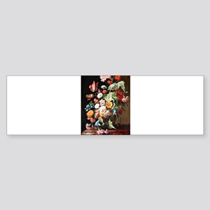 Rachel Ruysh Flower Bouquet Sticker (Bumper)