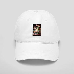 Rachel Ruysh Flower Bouquet Cap
