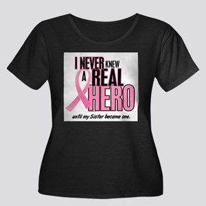 Never Knew A Hero 2 (Sister) Plus Size T-Shirt