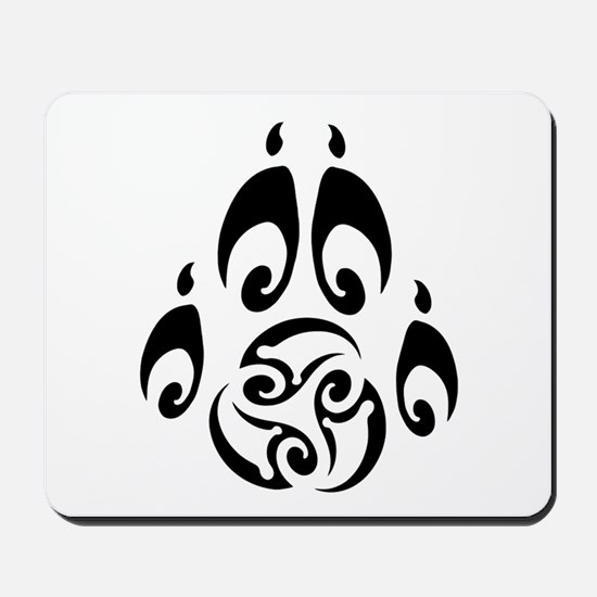 Blackwolf Majik Logo Mousepad