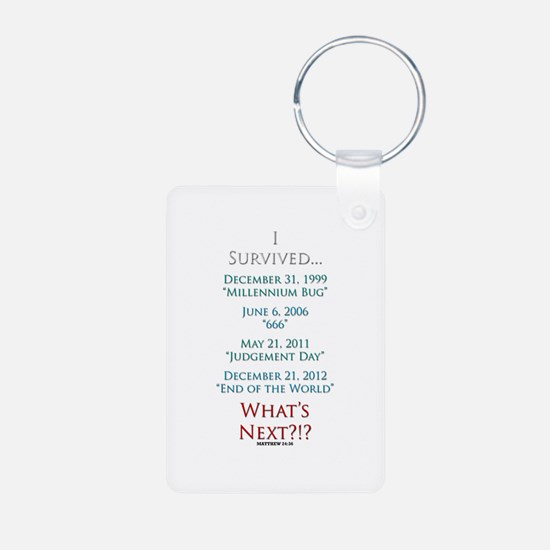 Survived... Whats Next?!? Keychains