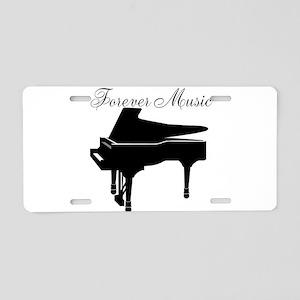 Forever Music Aluminum License Plate