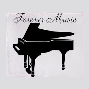 Forever Music Throw Blanket