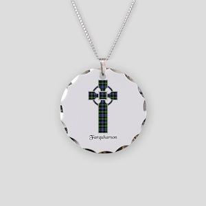 Cross - Farquharson Necklace Circle Charm
