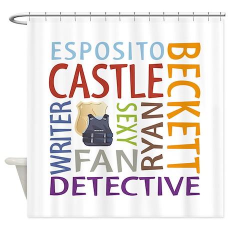Castle Fan Shower Curtain