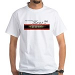 The Stafford Knot White T-Shirt