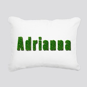 Adrianna Grass Rectangular Canvas Pillow