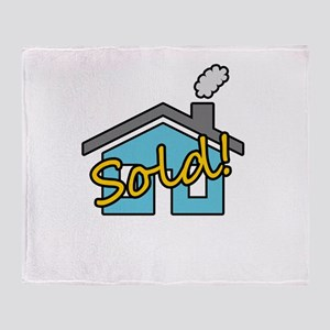 House Sold! Throw Blanket