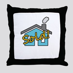 House Sold! Throw Pillow