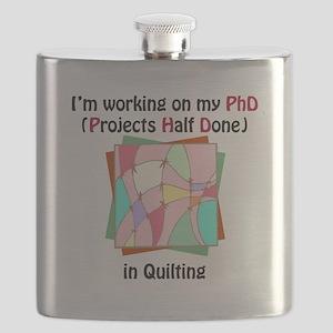 QuiltingPhD Flask