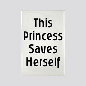 This Princess Rectangle Magnet