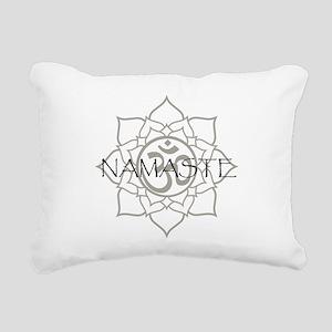 NamasteOm-1 Rectangular Canvas Pillow