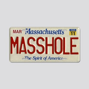 Masshole License Plate