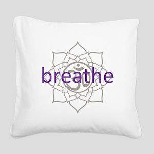 purplebreathe Square Canvas Pillow