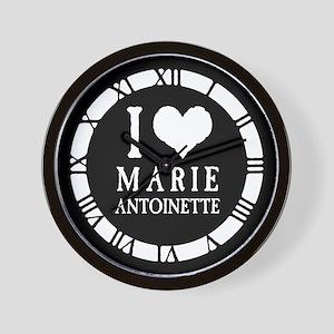 I Love Marie Antoinette Wall Clock
