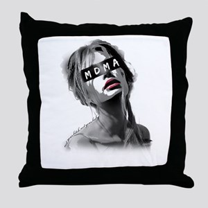Not Your Bitch, Not Your Baby Throw Pillow