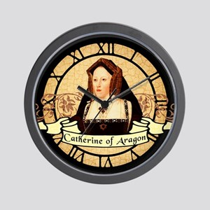 Catherine Of Aragon Wall Clock
