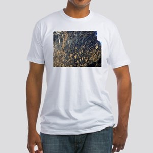petroglyphs Fitted T-Shirt